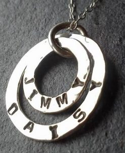 two circles pendant