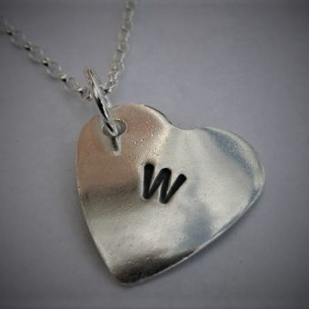 stamped heart