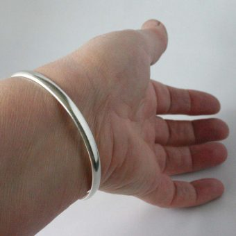 silversmithing course bangle
