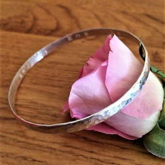silver workshop bangle